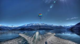 Parasailing-Wanaka-Parasailing flight over Lake Wanaka, New Zealand-3