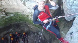 Canyoning-Gorgo de la Escalera-Canyoning au Gorgo de la Escalera près de Valence-3