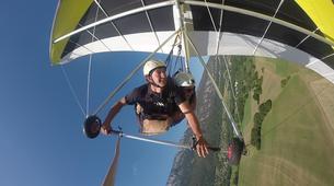 Ala detla-Annecy-Hang gliding tandem flight over Annecy-12