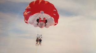 Parachute ascensionnel-Puerto del Carmen, Lanzarote-Vol en Parachute ascensionnel à Puerto del Carmen, Lazarote-5
