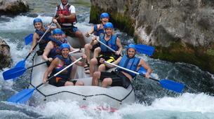 Rafting-Omiš-Descente en Rafting sur la Rivière Cetina et Spéléologie à Omis-2