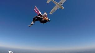Skydiving-Évora-Tandem skydive over Evora, Portugal-2