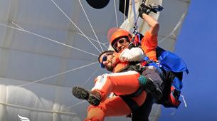 Skydiving-Évora-Tandem skydive over Evora, Portugal-5