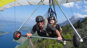 Ala detla-Annecy-Hang gliding tandem flight over Annecy-6
