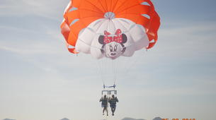 Parachute ascensionnel-Puerto del Carmen, Lanzarote-Vol en Parachute ascensionnel à Puerto del Carmen, Lazarote-4