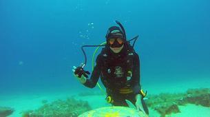 Plongée sous-marine-Malte-PADI Open Water Diver in Exiles Bay, Malta-6