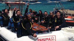 Plongée sous-marine-Malte-PADI Open Water course in Mellieha Bay, Malta-2