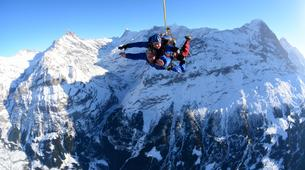 Skydiving-Interlaken-Tandem helicopter skydive over Interlaken or Lauterbrunnen-5