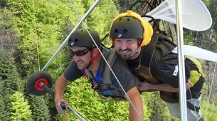 Ala detla-Annecy-Hang gliding tandem flight over Annecy-11