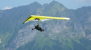 Ala detla-Annecy-Hang gliding tandem flight over Annecy-9