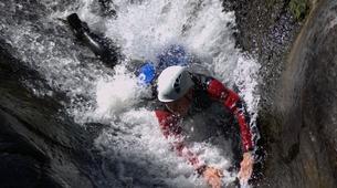 Canyoning-Ardèche-Aerocanyon Ultra avec 360m de Tyroliennes dans les gorges de l'Ardèche-5