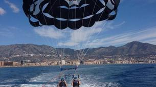 Parasailing-Fuengirola-Parasailing flight in Fuengirola, near Marbella-2