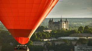 Hot Air Ballooning-Saumur-Hot air balloon flight over Saumur near Tours-1