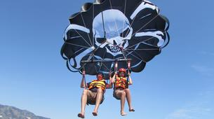 Parasailing-Fuengirola-Parasailing flight in Fuengirola, near Marbella-4
