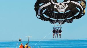 Parasailing-Fuengirola-Parasailing flight in Fuengirola, near Marbella-6