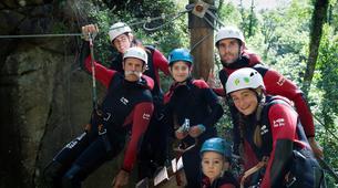 Canyoning-Ardèche-Canyon familial avec tyrolienne dans les gorges de l'Ardèche-4