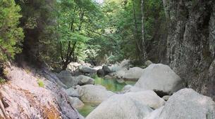 Canyoning-Aiguilles de Bavella-Canyon de la Purcaraccia à Bavella, Corse-6