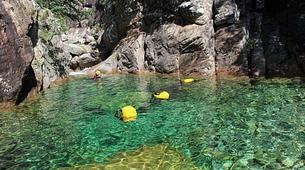 Canyoning-Aiguilles de Bavella-Canyon de la Purcaraccia à Bavella, Corse-1
