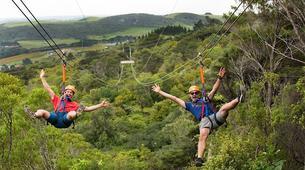 Tyrolienne-Auckland-Ziplining excursion on Waiheke Island near Auckland-1