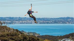 Tyrolienne-Auckland-Ziplining excursion on Waiheke Island near Auckland-12