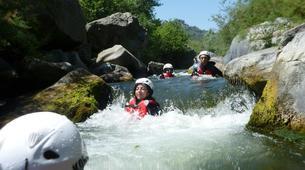 Canyoning-Riserva Naturale Orientata Bosco di Malabotta-Water trekking on the Alcantara river in Sicily-4