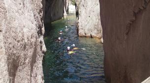 Canyoning-Aiguilles de Bavella-Canyon Sportif de la Vacca à Bavella, Corse-7