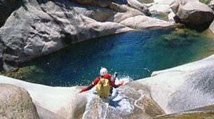 Canyoning-Aiguilles de Bavella-Canyon de la Purcaraccia à Bavella, Corse-2