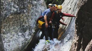 Canyoning-Aiguilles de Bavella-Canyon de Pulischellu à Bavella, Corse-2