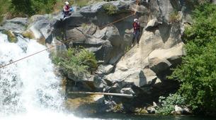 Canyoning-Riserva Naturale Orientata Bosco di Malabotta-Water trekking on the Alcantara river in Sicily-6