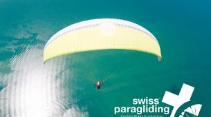 Paragliding-Interlaken-Tandem paragliding flight in Beatenberg near Interlaken-6