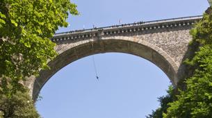Saut à l'élastique-Luz Saint Sauveur-Saut à l'Elastique du Pont Napoléon (90m) à Luz Saint Sauveur-2