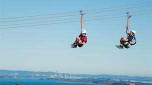 Tyrolienne-Auckland-Ziplining excursion on Waiheke Island near Auckland-8