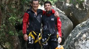 Canyoning-Aiguilles de Bavella-Canyon de la Purcaraccia à Bavella, Corse-5