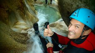 Canyoning-Laruns-Canyon du Gourzy dans la Vallée d'Ossau, Laruns-4