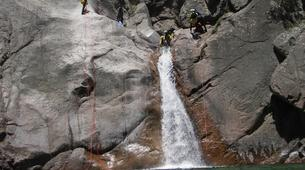 Canyoning-Aiguilles de Bavella-Canyon Sportif de la Vacca à Bavella, Corse-5