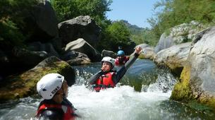 Canyoning-Riserva Naturale Orientata Bosco di Malabotta-Water trekking on the Alcantara river in Sicily-2