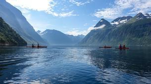 Sea Kayaking-Alesund-Kayaking excursion to Hjørundfjorden near Ålesund-4