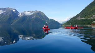 Sea Kayaking-Alesund-Kayaking excursion to Hjørundfjorden near Ålesund-3