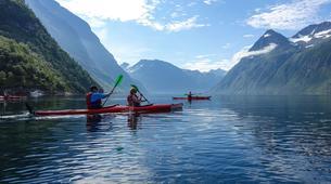 Sea Kayaking-Alesund-Kayaking excursion to Hjørundfjorden near Ålesund-5