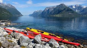 Sea Kayaking-Alesund-Kayaking excursion to Hjørundfjorden near Ålesund-2