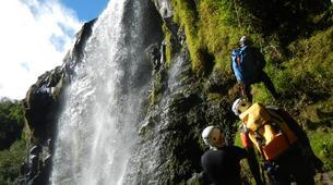 Canyoning-Rivière Sainte-Suzanne-Canyon Sainte Suzanne sur l'île de La Réunion-1