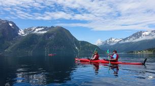 Sea Kayaking-Alesund-Kayaking excursion to Hjørundfjorden near Ålesund-6