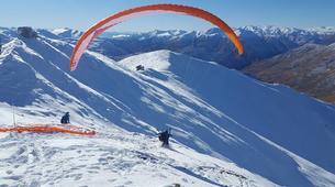 Paragliding-Queenstown-Tandem paragliding flight over Queenstown, New Zealand-1
