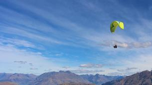 Paragliding-Queenstown-Tandem paragliding flight over Queenstown, New Zealand-5