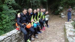 Canyoning-Castelnuovo di Garfagnana-Canyon des Rio Selvano bei Florenz-4