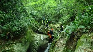 Canyoning-Castelnuovo di Garfagnana-Canyon des Rio Selvano bei Florenz-6