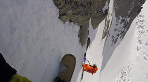 Backcountry Skiing-Chamonix Mont-Blanc-Backcountry steep skiing day trip in Chamonix-2