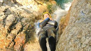 Canyoning-Bovec-Sucec canyon near Bovec, Slovenia-1