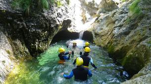 Canyoning-Bovec-Sucec canyon near Bovec, Slovenia-3