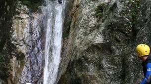 Canyoning-Bovec-Sucec canyon near Bovec, Slovenia-5